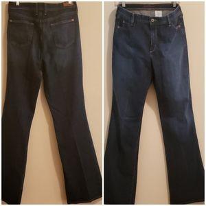 Eddie Bauer Bootcut Dark Wash Tall Jean's, Sz 12T